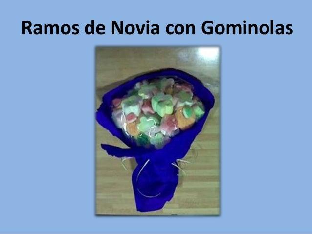 Ramos de Novia con Gominolas