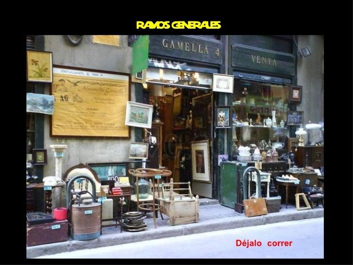 Ramos generales