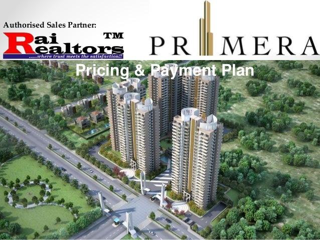 Authorised Sales Partner: Pricing & Payment Plan