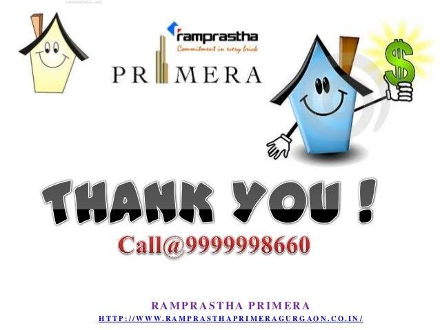 Ramprastha Primera Sector 37 D Gurgaon New Housing Project