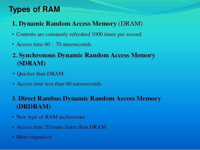 What are some examples of ram? Quora.