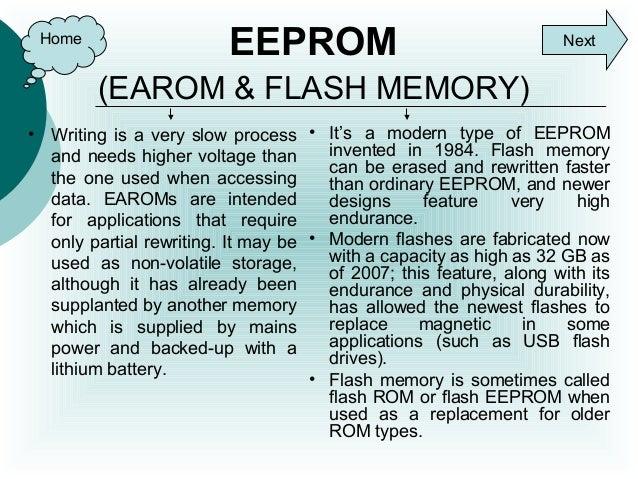 Ram & rom memories