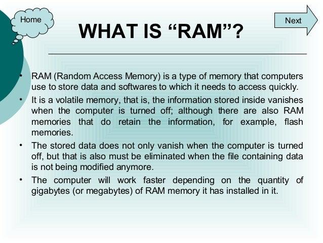 Ram Amp Rom Memories