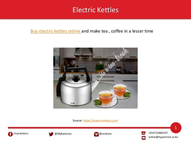 Essential Kitchen Appliances From Ramtons