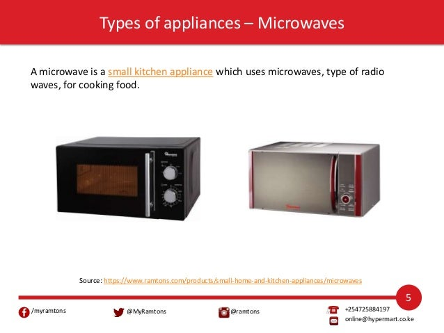 Food Cooking Appliances From Ramtons