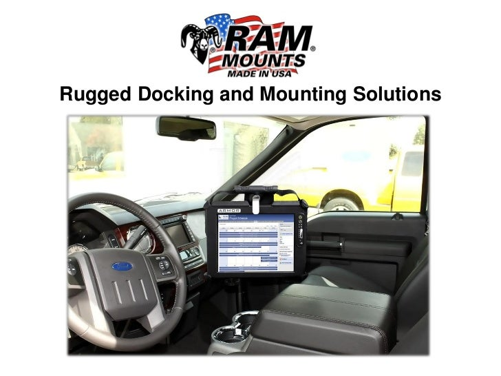 Rugged Docking and Mounting Solutions