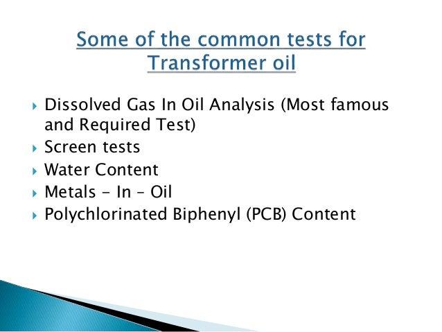 Dissolved Gas Analysis in Transformer Oil Slide 3