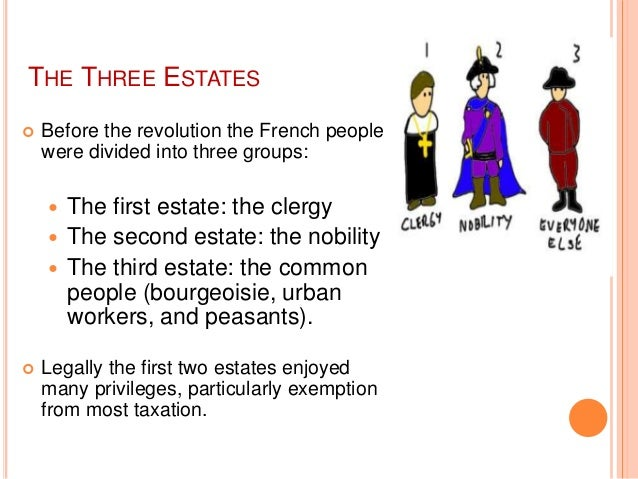 three estates definition