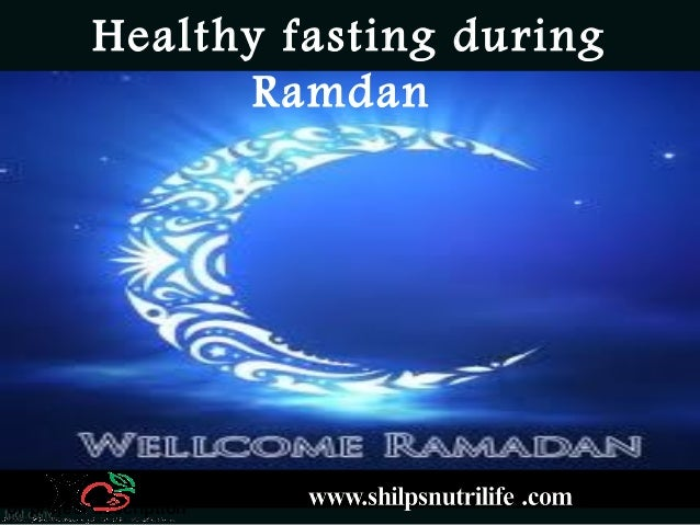 Presentation Title My name contact information or project description Healthy fasting during Ramdan
