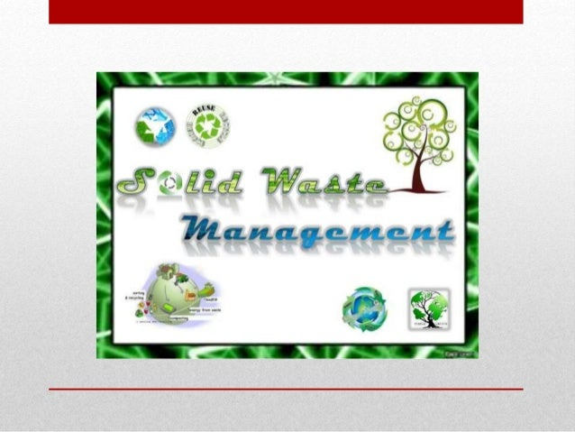 Research proposal of solid waste management Slide 2