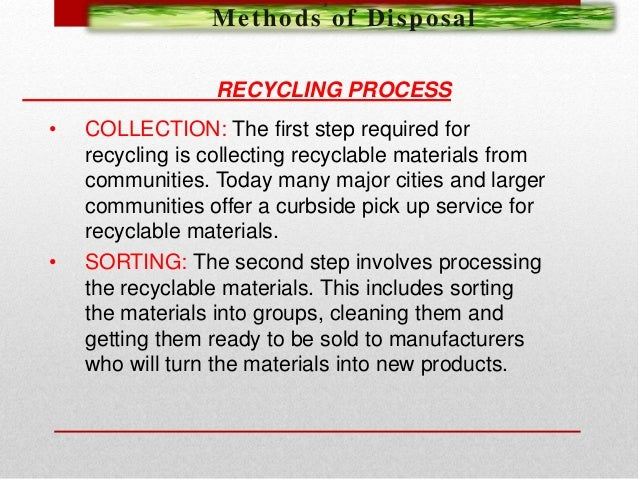 Research proposal of solid waste management