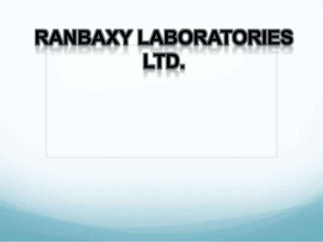 Content Introduction1. Ranbaxy has the choice of continuing as themanufacturer of imitative generic drugs or becoming the...