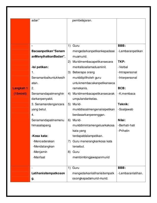 RPH KSSR BM ( kemahiran membaca) Slide 3