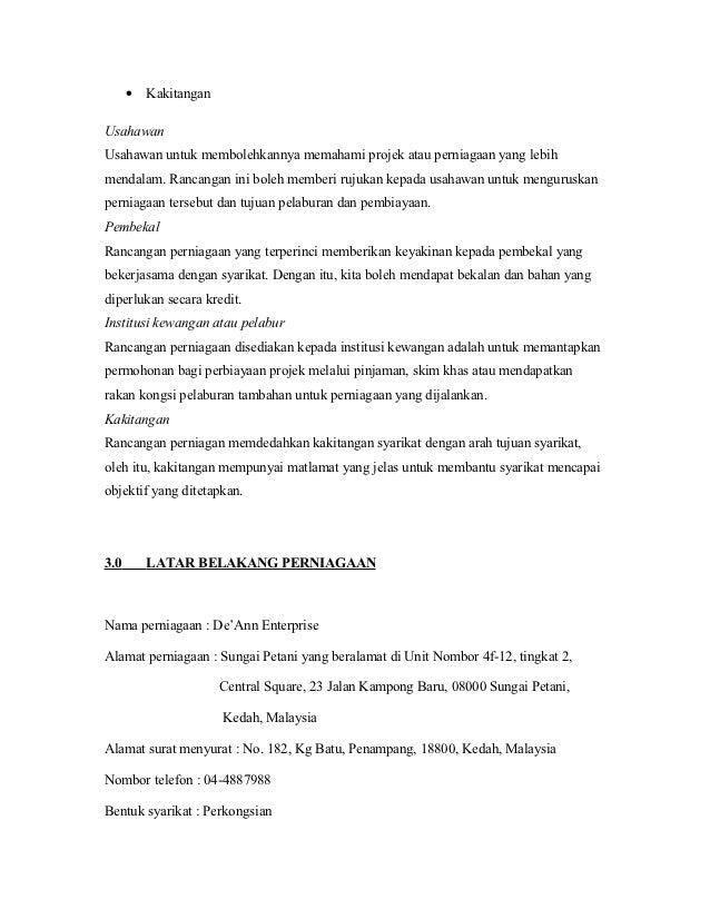 Contoh Pengenalan Untuk Folio Gratis Omah