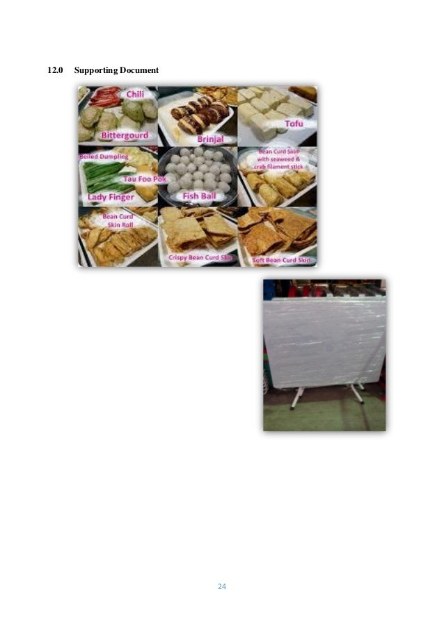 business plan makanan tradisional