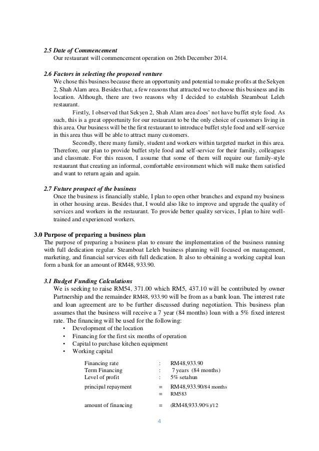 Example Business Plan - Politeknik