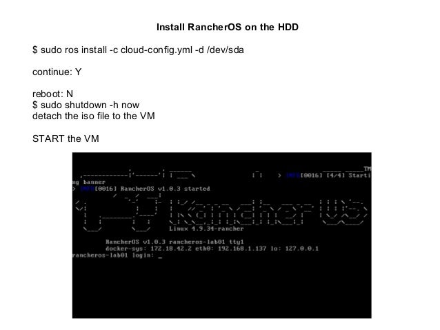 Rancher OS - A simplified Linux distribution built from