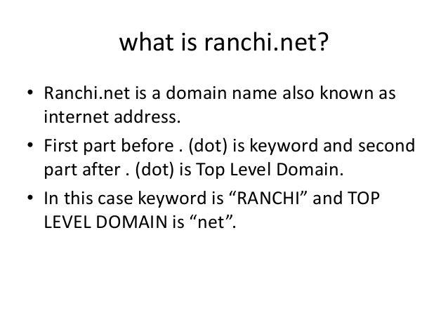 Ranchi net Sales Pitch Slide 3