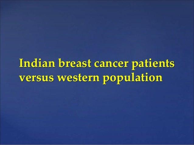 Incorporating data for management of breast cancer Slide 3