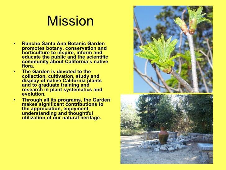 Rancho Santa Ana Botanic Garden; 2.