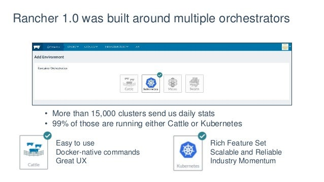Hands-on with Rancher 2 0 and Kubernetes - October 2017