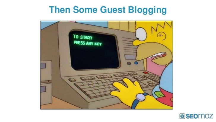 Then Some Guest Blogging