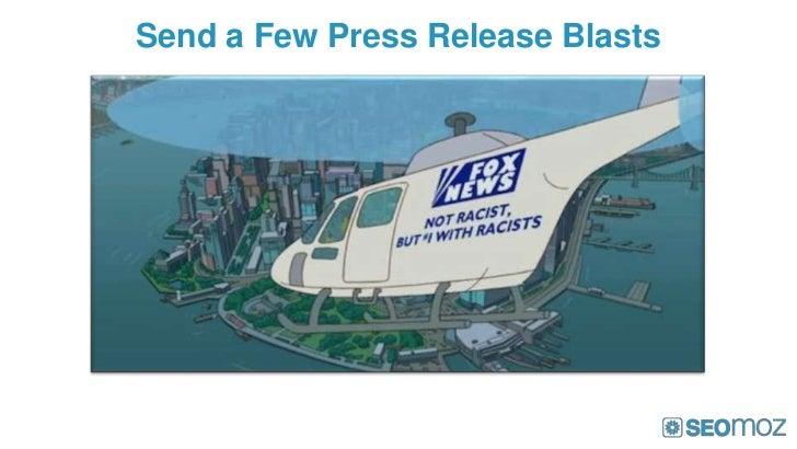 Send a Few Press Release Blasts