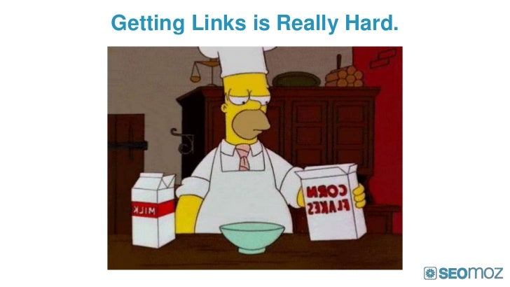 Getting Links is Really Hard.