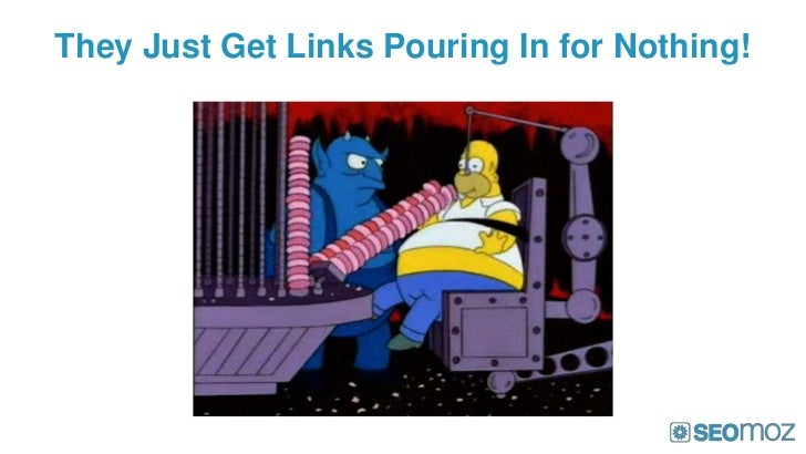 They Just Get Links Pouring In for Nothing!