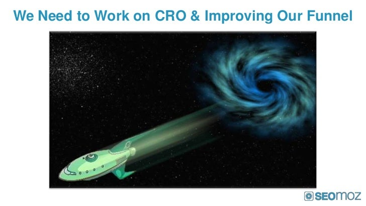 We Need to Work on CRO & Improving Our Funnel