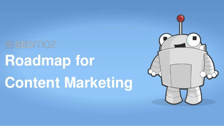 Roadmap forContent Marketing