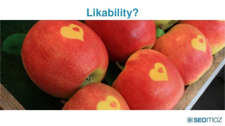 Likability?