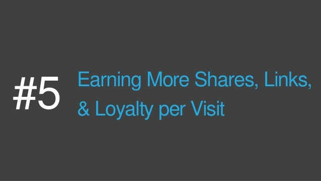 Data from Buzzsumo & Moz show that very few articles earn sharesAND that links & shares have almost no correlation. Via Bu...