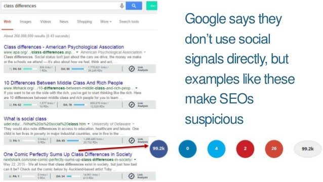 Google Could Be Using a Lot of Other Metrics/Sources to Get Data That Mimics Social Shares: Clickstream (from Chrome/Andro...