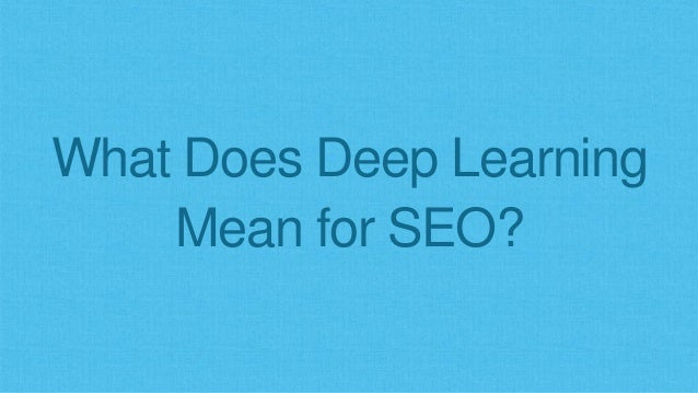 We'll Be Optimizing Less for Ranking Inputs Unique Linking Domains Keywords in Title Anchor Text Content Uniqueness Page L...