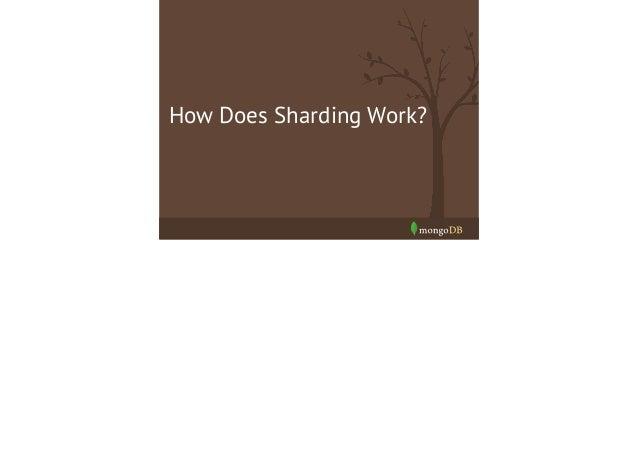 MongoDB's Sharding Infrastructure