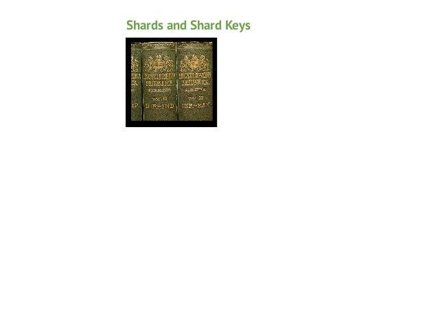 Shards and Shard Keys Chunks!