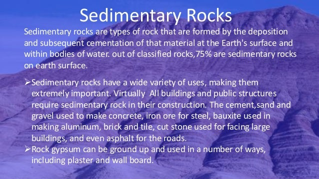 Rocks As A Construction Material