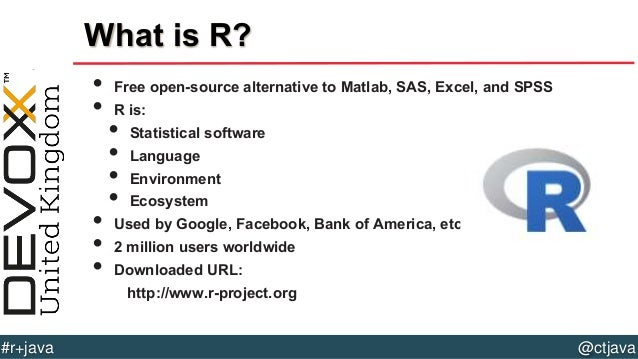 data analysis r So you've read your data into an r object now what before you start analyzing, you might want to take a look at your data object's structure and a few row entries if it's a 2-dimensional table .