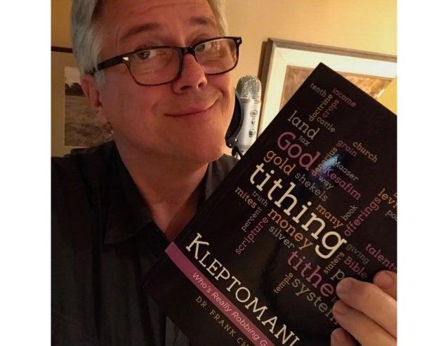 Randolf is Reading Kleptomaniac: Who's Really Robbing God Anyway?