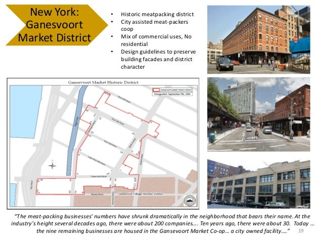 Gansevoort Market Plan fulton randolph market district plan (presented 4/1/14)