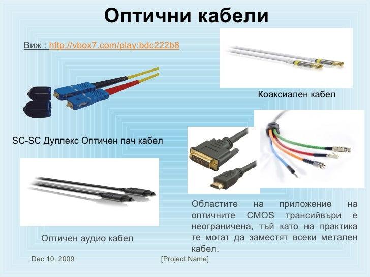 Оптични кабели SC-SC Дуплекс Оптичен пач кабел Коаксиален кабел  Оптичен аудио кабел Областите на приложение на оптичните ...