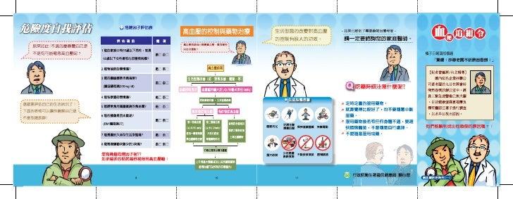 高血壓防治系列一血壓追緝令