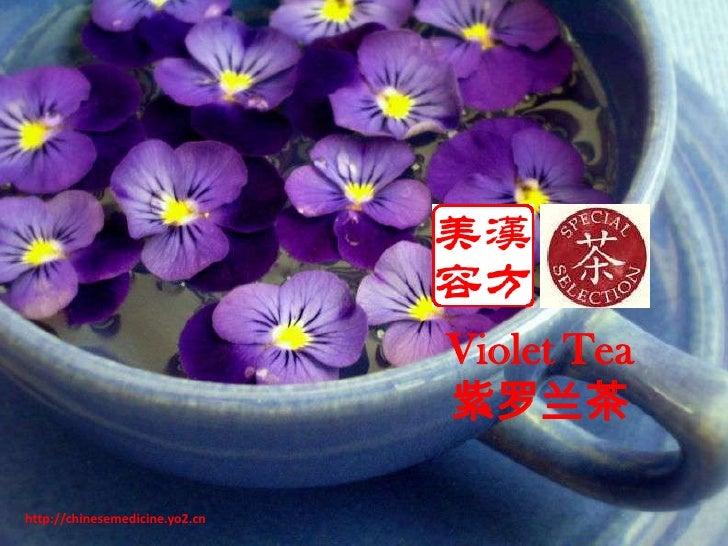 Violet Tea<br />紫罗兰茶<br />http://chinesemedicine.yo2.cn<br />