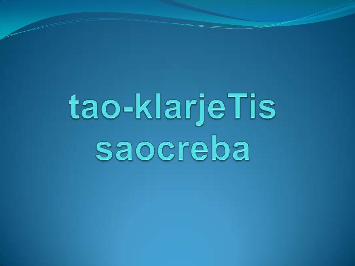 tao-klarjeTissaocreba<br />