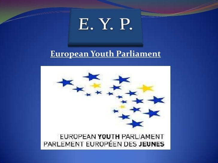 European Youth Parliament<br />