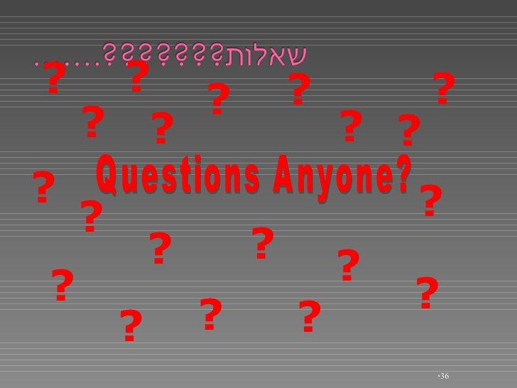 <ul><li></li></ul>Questions Anyone? ? ? ? ? ? ? ? ? ? ? ? ? ? ? ? ? ? ? ? ?