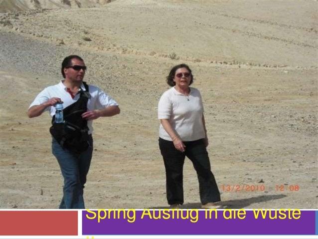 Spring Ausflug in die Wüste ..