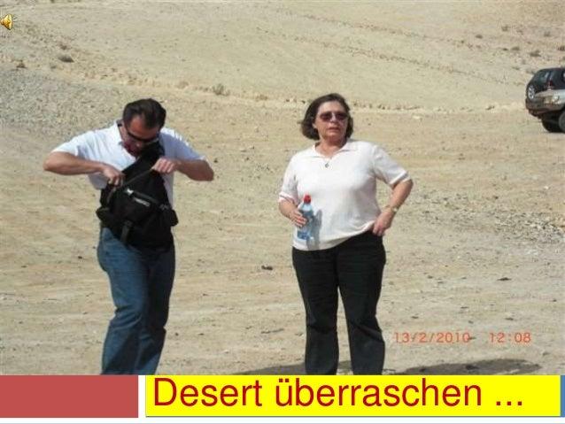 Desert überraschen ...