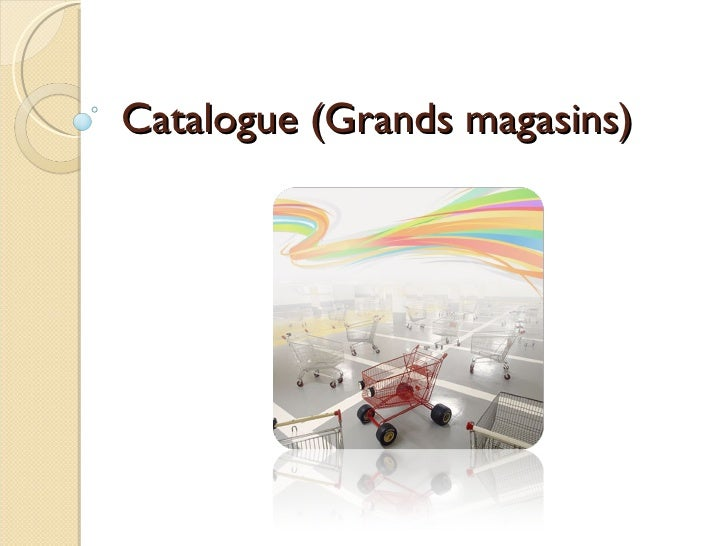 Catalogue (Grands magasins)